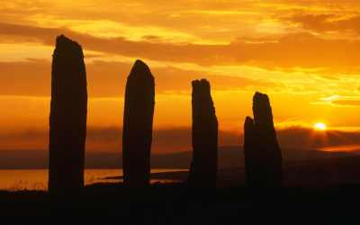 Island hopping around the islands of Orkney and Shetland