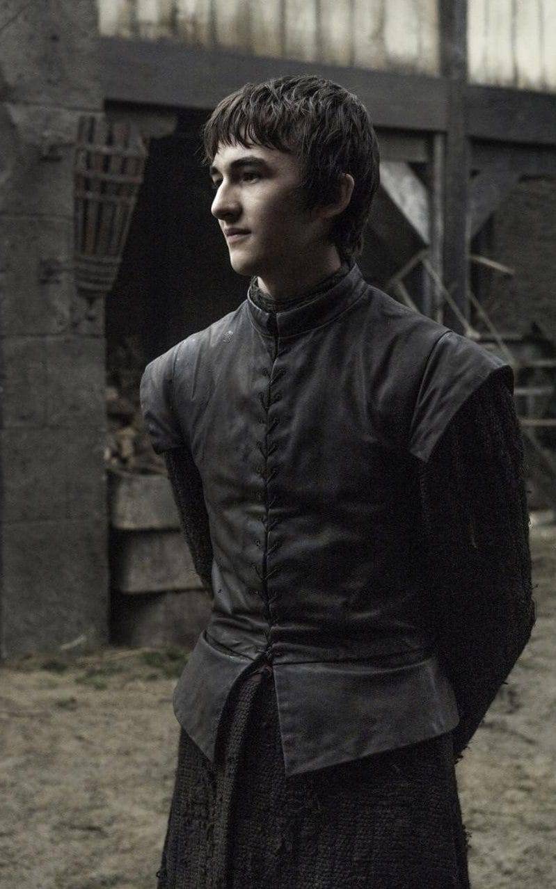 Isaac Hampstead Wright as Bran Stark in Game of Thrones season six, episode two