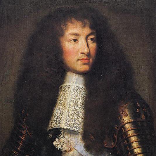 الملك لويس الرابع عشر في عام 1661