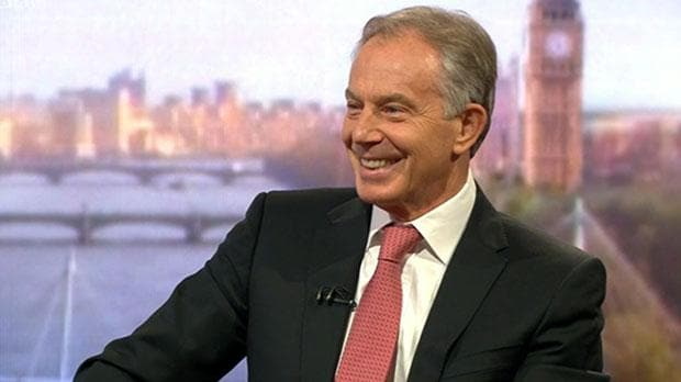 Tony Blair quizzed about his wealth