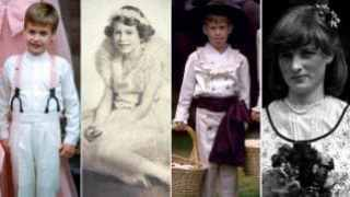 Royal bridesmaids and pageboys - in 90 seconds