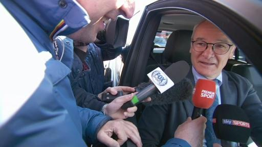 Ranieri tells fans: We want to improve a lot