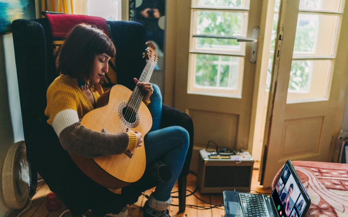Musicians will perform and record a song for you to play to your partner