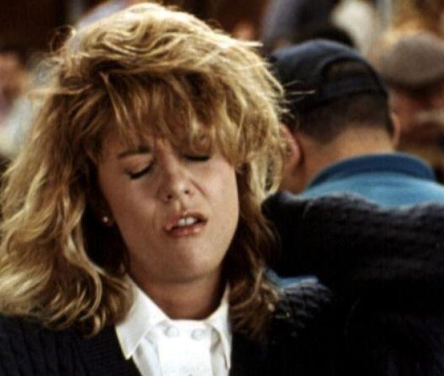 Meg Ryans Famous Orgasm Scene In The  Film When Harry Met Sally