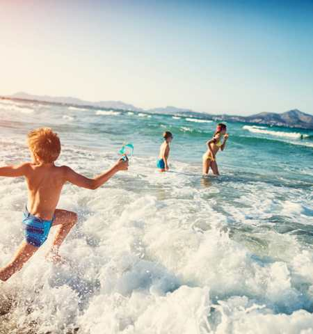 Image result for swimming sea beach
