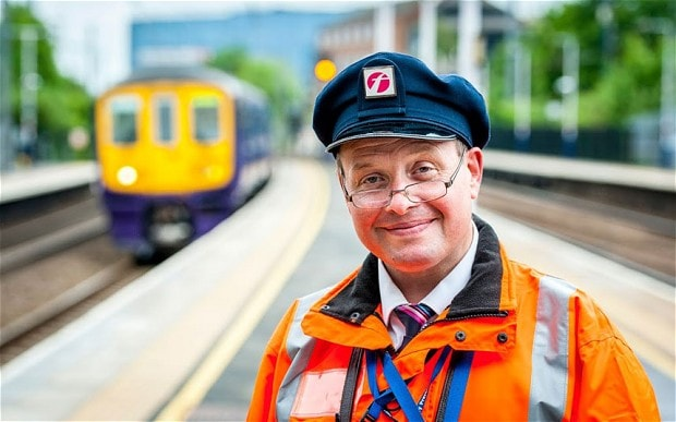 James Allen, the train dispatcher at St Albans station