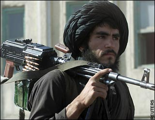 A Taliban fighter in Afghanistan?s south. Afghanistan is lost, says Lord Ashdown