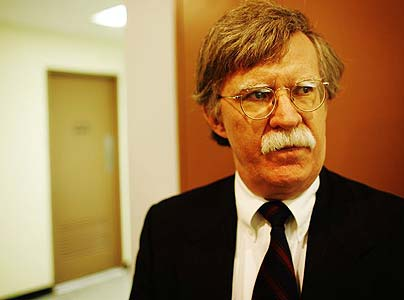 John Bolton was the US ambassador to the UN until January 2006