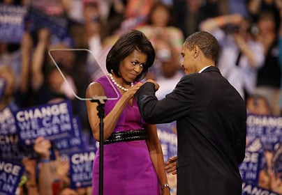Is that the higher taxes for all fist bump?
