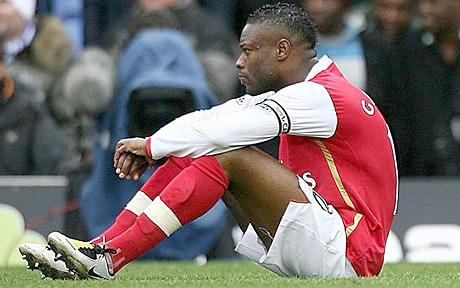 William Gallas was the subject of a verbal barb from Toure