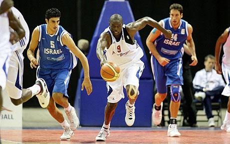 Luo Deng leads Great Britain to victory over Isreal