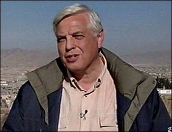 John Simpson discusses his job on the front line (Source: Telegraph)
