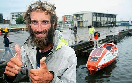 Alex Bellini - Italian rescued 65 miles short of rowing Pacific Ocean solo