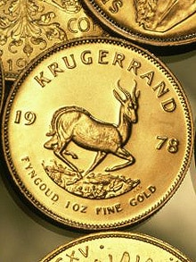Rich investors are spurning gold exchange traded funds in favour of krugerrands.
