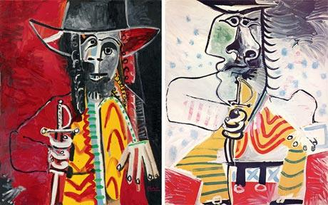 Both, Sothebys and Christies Picassos auctioned in June.