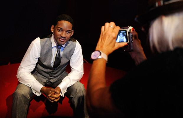 A waxwork of actor Will Smith is photographed at the opening of Madame Tussauds Hollywood in Los Angeles