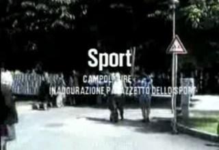 Inaugurazione Palazzetto dello Sport