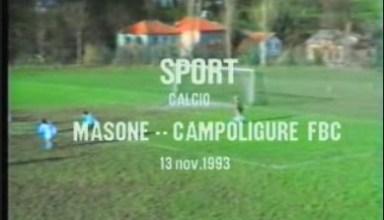 Calcio: Masone - Campo Ligure FBC