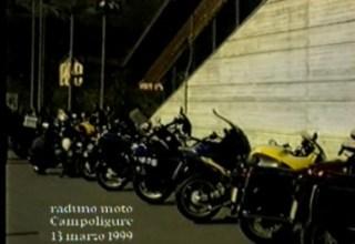 Raduno delle moto a Campo Ligure