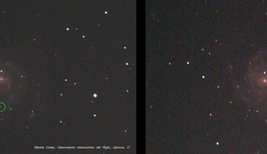 Supernova in M101 2011