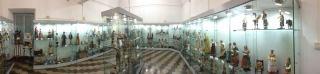 Museo Civico Andrea Tubino visione panoramica delle sala del presepe barocco - Foto di Gianni Ottonello