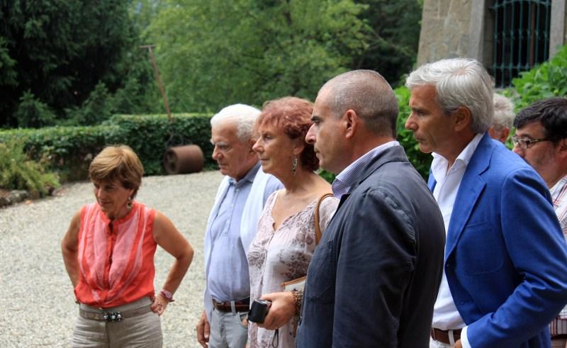 Un momento a Villa Piaggio