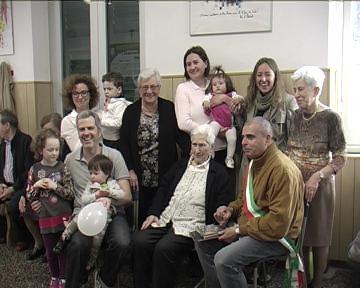 Festa centenaria masonese Catterina Ottonello