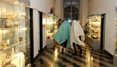 Venerdì 6 giugno 2014, ore 22 circa. Ricordi di una notte al Museo Tubino di Masone Fantasmi in fuga!! - Foto di Gianni Ottonello