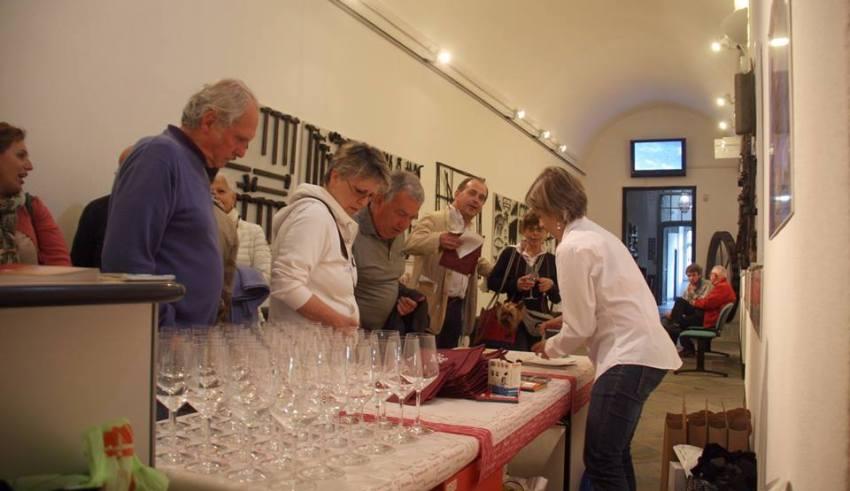 Aperitivo al Museo Tubino - Foto di Gianni Ottonello
