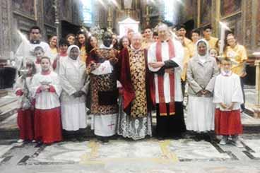 65° anno di sacerdozio di Don Rinaldo Cartosio