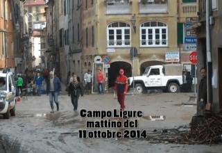 Alluvione a Campo Ligure 11 ottobre 2014