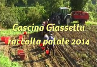 Cascina Giassettu - Raccolta patate 2014