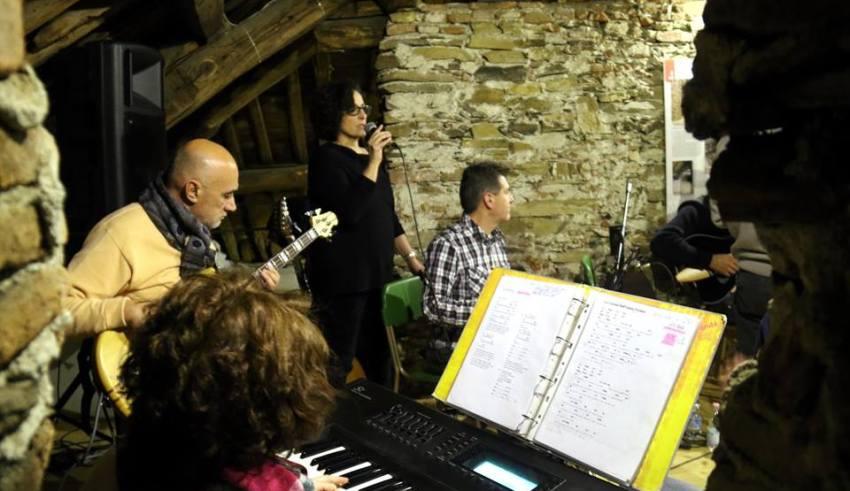 Musica e dialetto masonese al Museo Tubino - Foto Gianni Ottonello