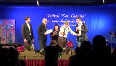 prestigioso riconoscimento per il gruppo musicale Quei de Rsciugni