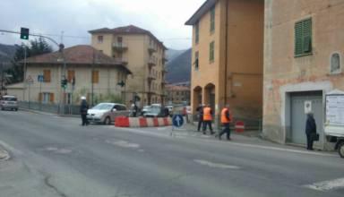Modifica stradale Rossiglione