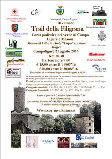 Trail della Filigrana
