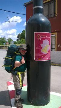 Il camminatore campese Antonio Perrone e il Cammino di Santiago di Compostela