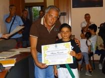 Il sindaco premia Cannatà