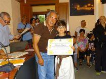 Il sindaco premia Gargano