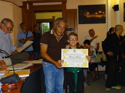 il sindaco premia Morabito
