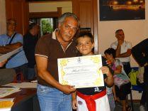 il sindaco premia Dichiera
