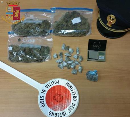 Detenevano marijuana, arrestati tre giovani