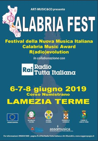 Calabria Fest - manifesto - loghi