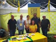 Alcuni partecipanti di Coldiretti al Villaggio di Bologna