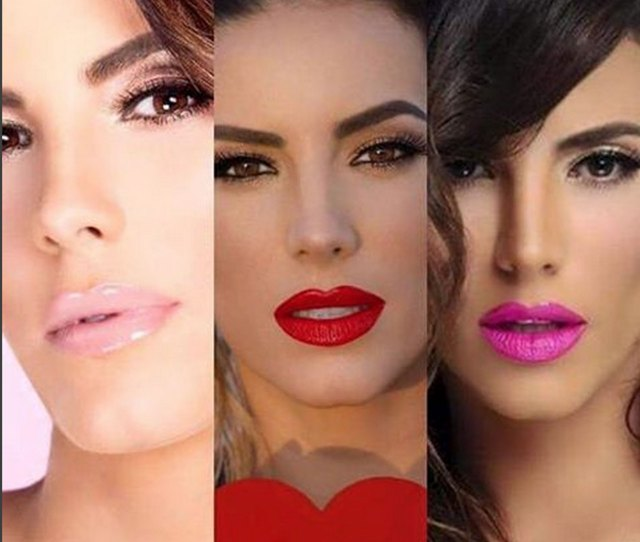 Gaby Espino Is Causing A Revolution With Her New Brand Of Lipsticks Photos Telemundo