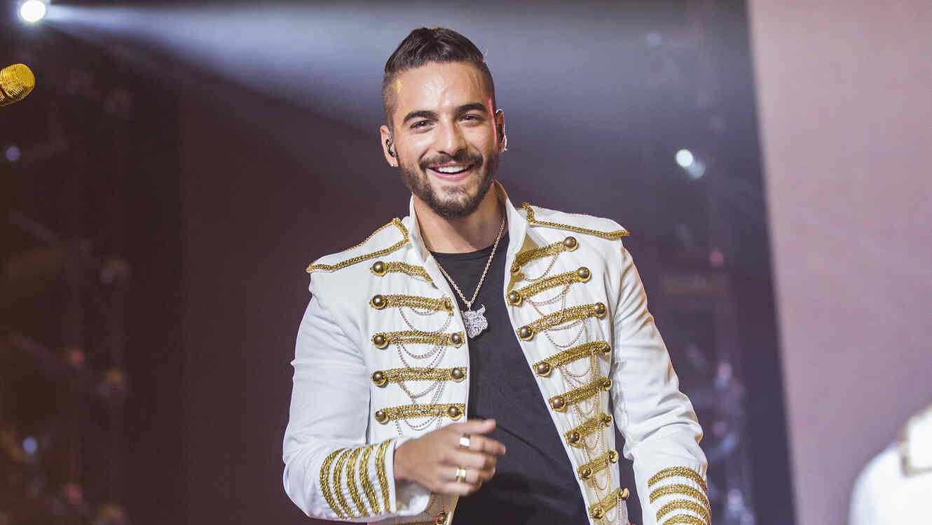 Maluma Performs in Concert in Barcelona