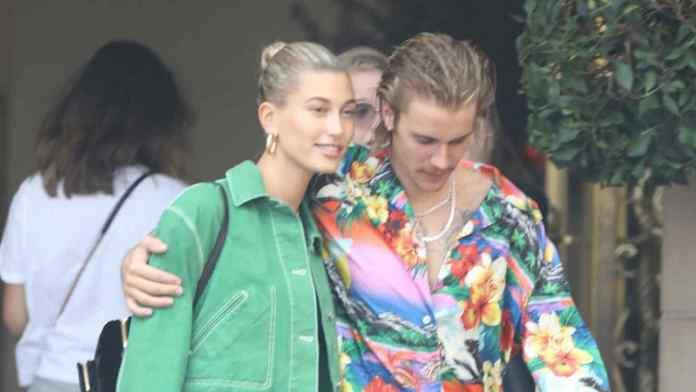 Hailey Baldwin con Justin Bieber