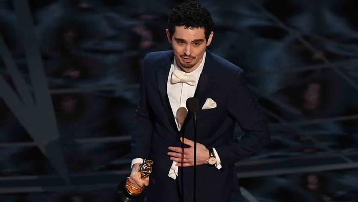 Damien Chazelle en los Oscars 2017