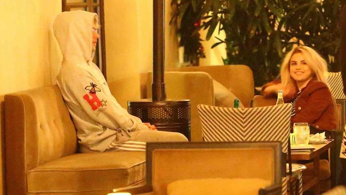 Selena Gomez y Justin Bieber en el hotel Montage