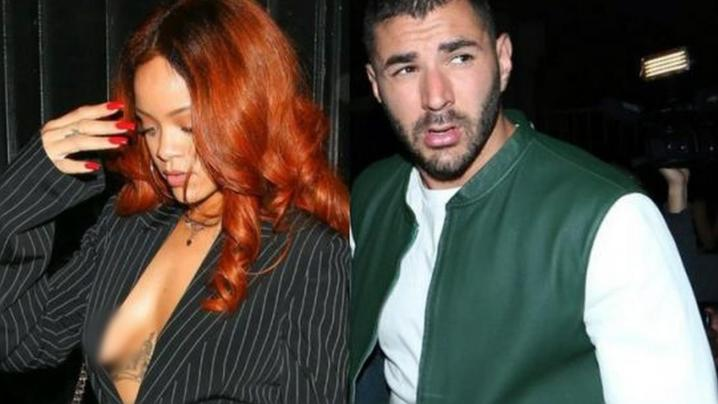 KARIM BENZEMA IS WILD. SLEEPING WITH A 16-YEAR-OLD PROSTITUTE, BLACKMAILING VALBUENA, AND HANGING OUT WITH RIHANNA.